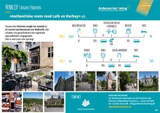 Verblijf: Authentieke route rond Luik en Durbuy