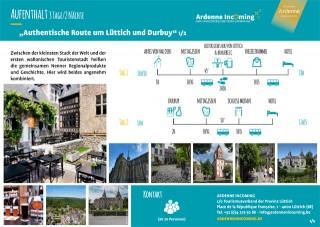 Aufenthalt: Authentische Route um Lüttich und Durbuy