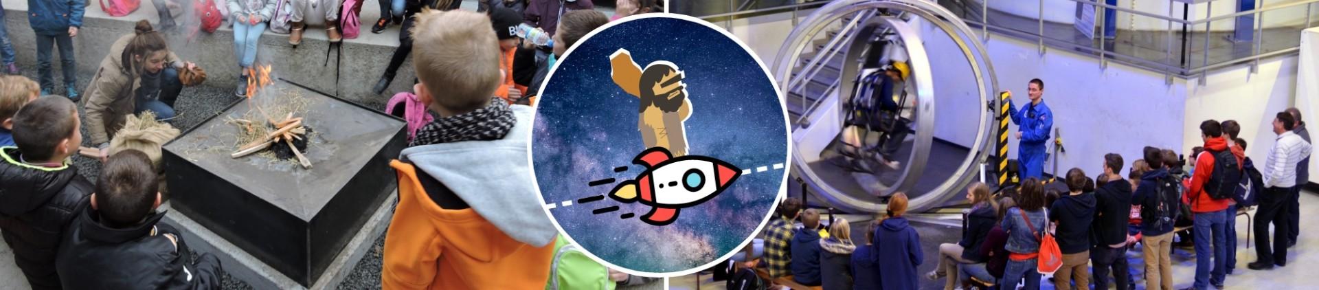 School groups - From the Flintstones to the Moon