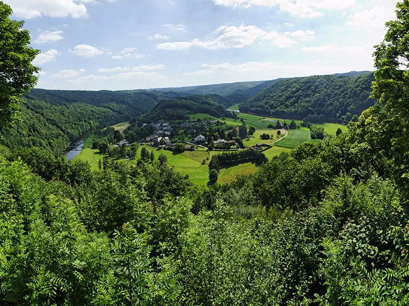 Luxemburg in Belgien