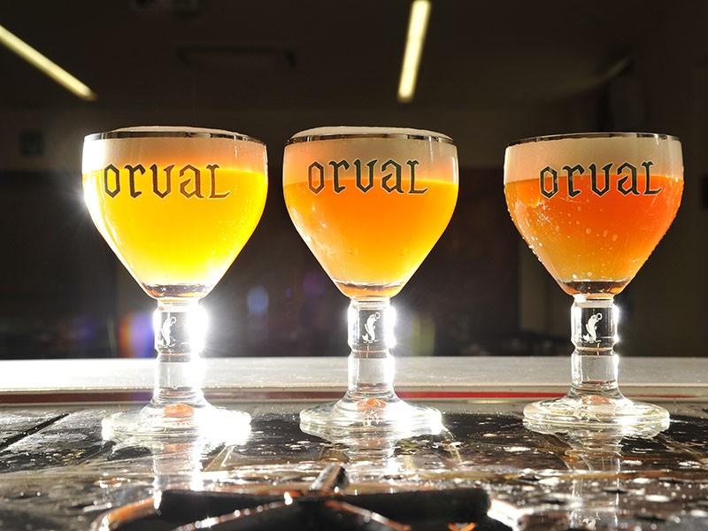 Bier der Abtei von Orval