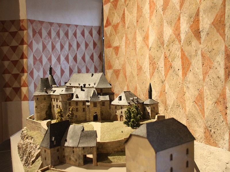 Exhibition of models of Luxembourg castles