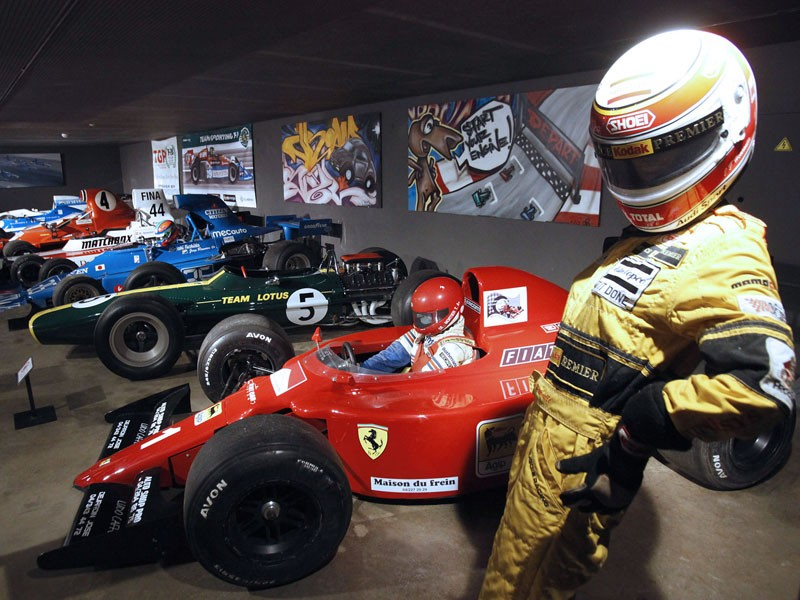 Circuit museum - Stavelot Abbey