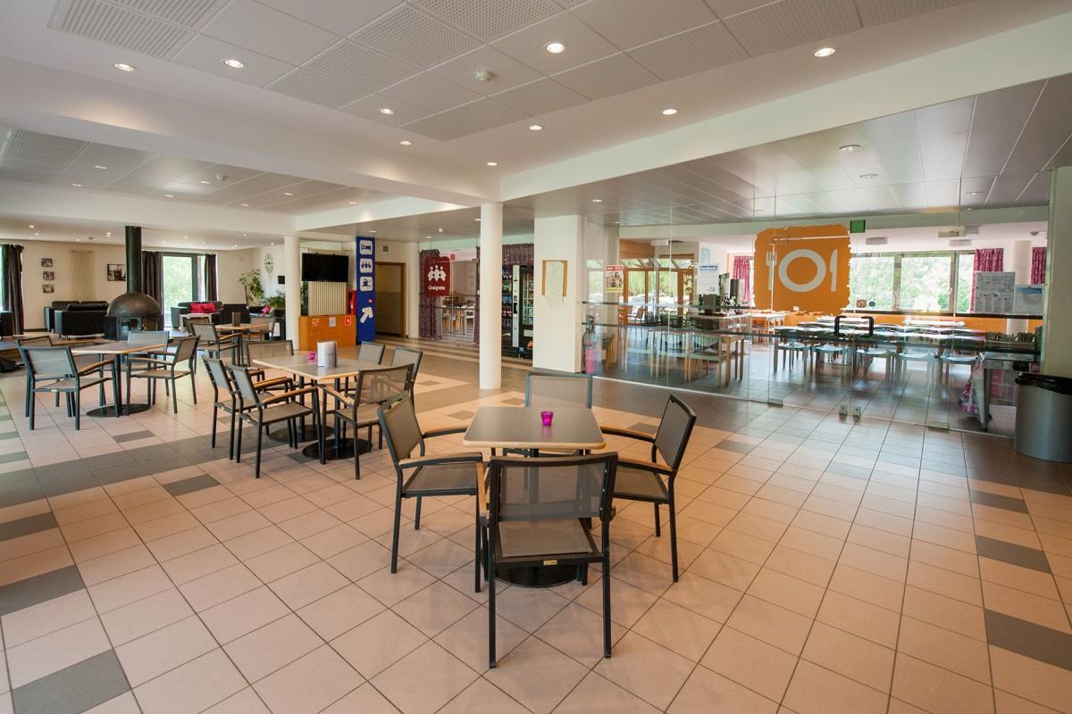 Auberge de Jeunesse de Malmedy - Salle de restauration
