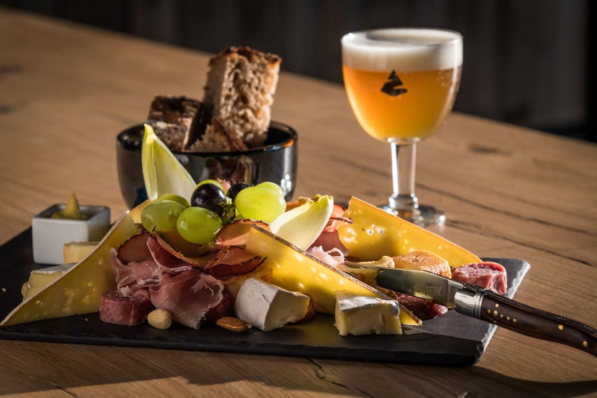Belgium Peak Beer Brewery  - Tasting platter