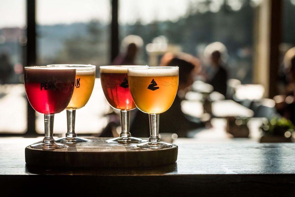 Belgian Peak Beer brewery