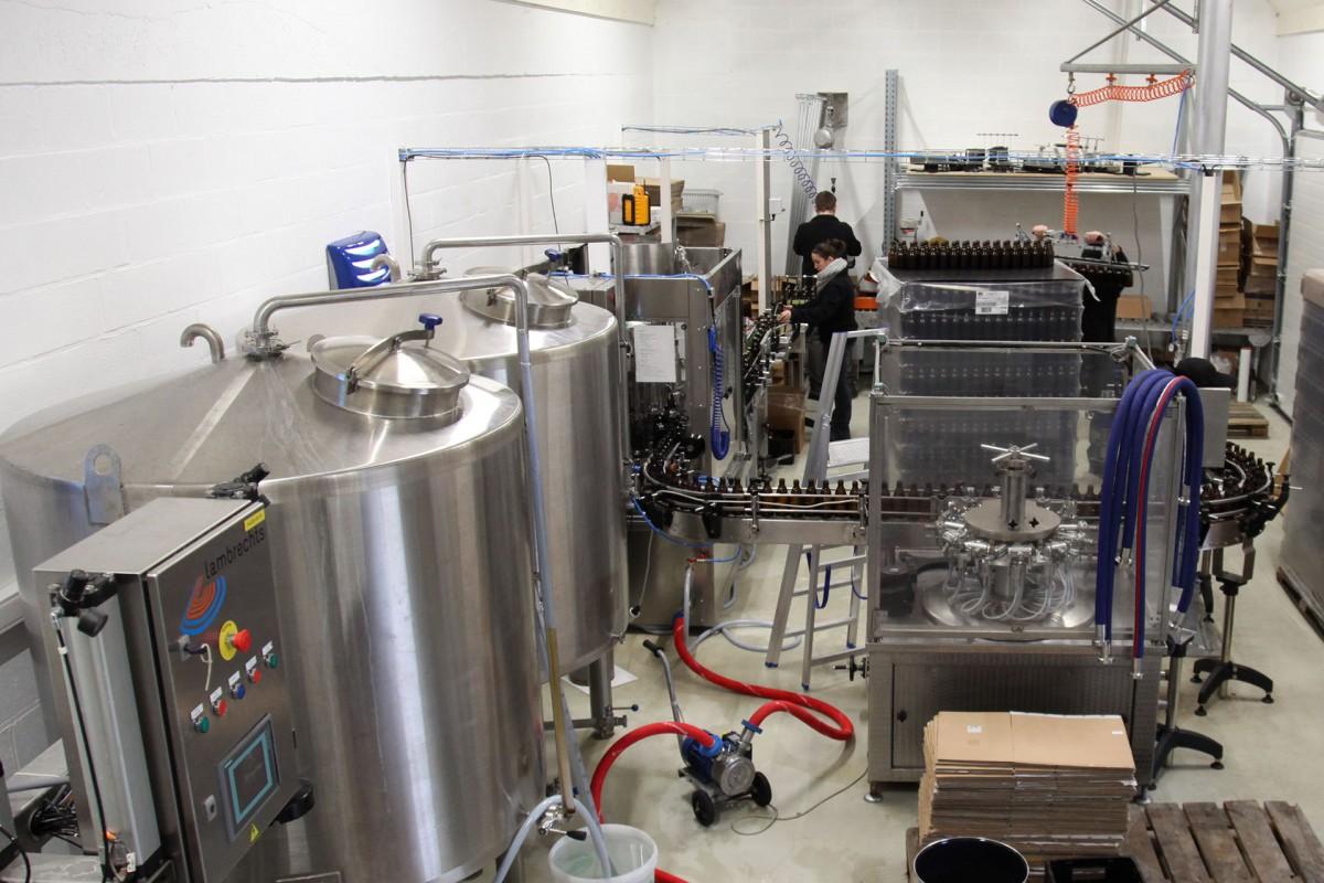 Brasserie Grain d'Orge - Hombourg - Production