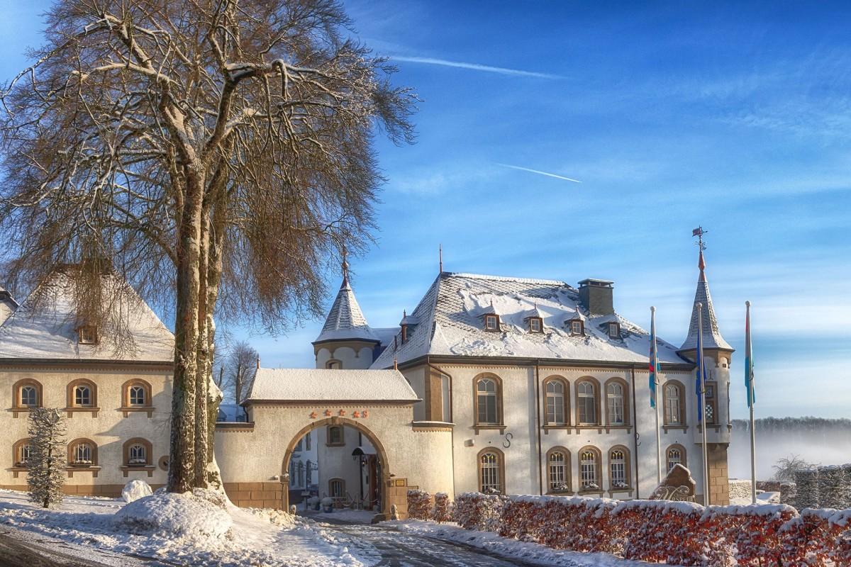 château d'Urspelt-hiver