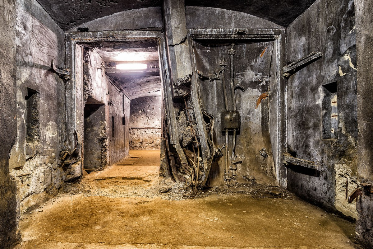 Fort d'Eben-Emael - Musée – Explosion