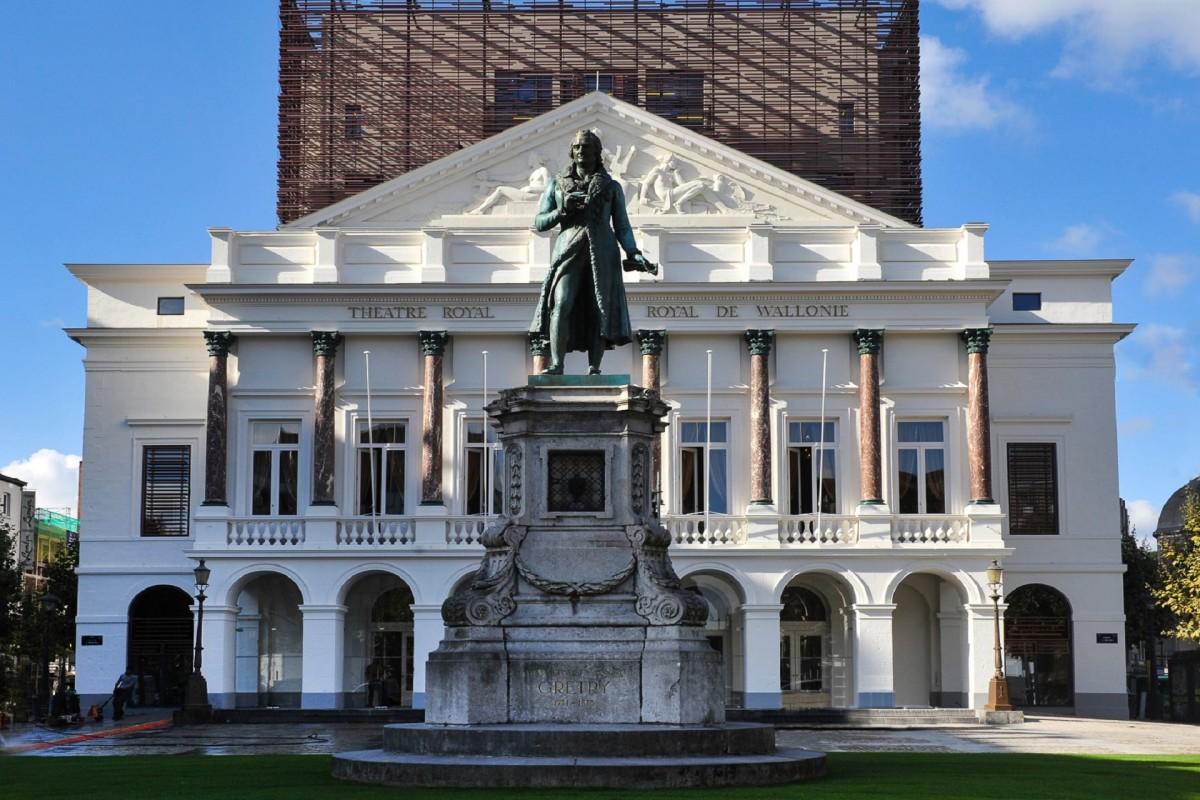 Opéra Royal de Wallonie - Façade