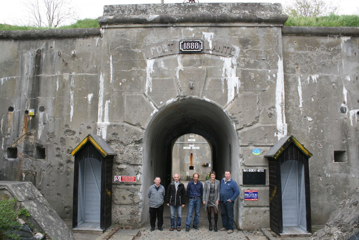 Fort de Lantin - Lantin - Entrée