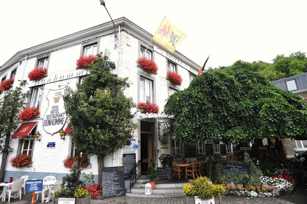 Royal Hôtel-Restaurant Bonhomme - Sougné-Remouchamps - Façade