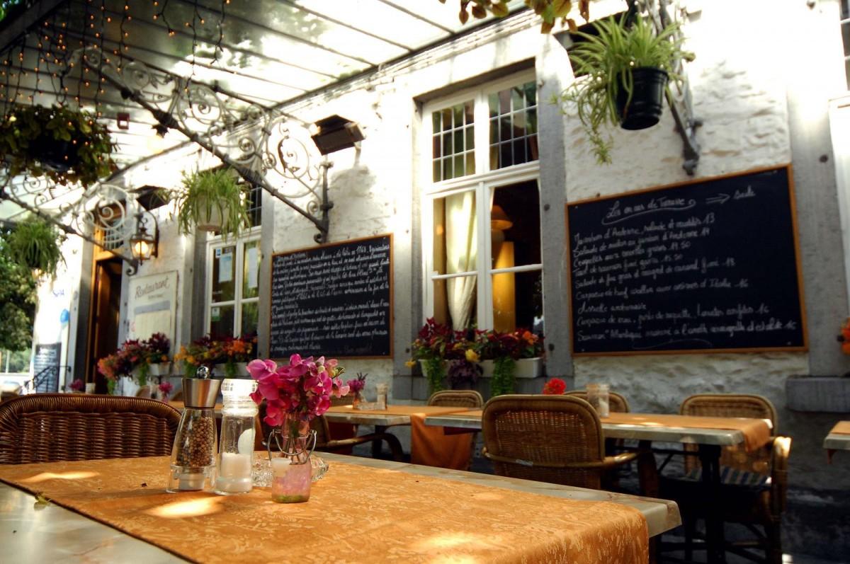 Royal Hôtel-Restaurant Bonhomme - Sougné-Remouchamps - Terrasse