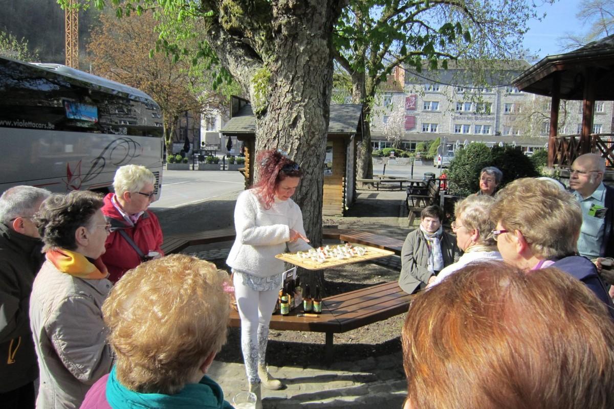 Kgl. Verkehrsverein Durbuy - Die Gourmet-Spaziergänge des Städtchens