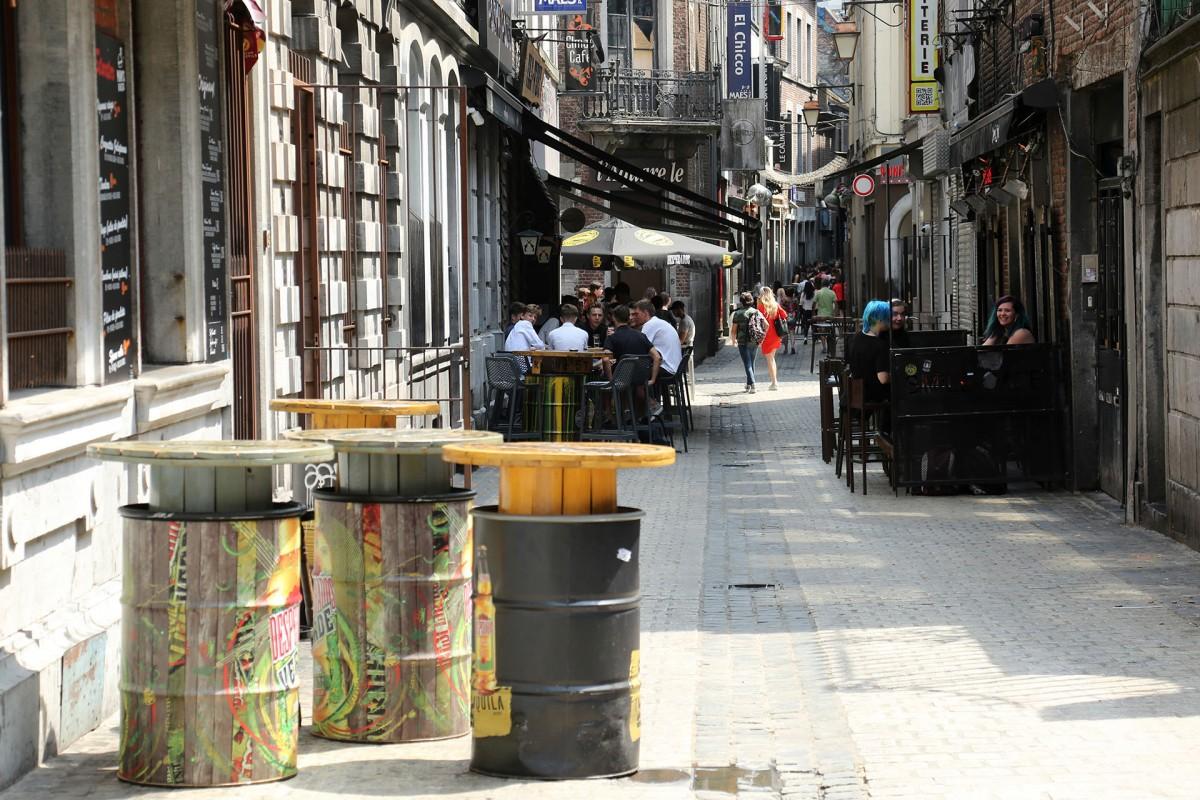 Vrije tijd in Luik - Le carré