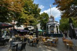Historisch centrum van Luik - Place du Marché met zijn Perron