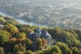 Château de Namur - Aerial view
