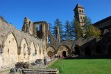 Abbaye d'Orval - Cloitre-ruines