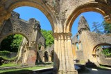 Abbaye d'Orval - Eglise-ruines