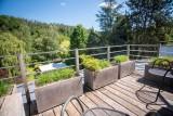 Logis Hostellerie la Claire Fontaine - Bedroom - Terrace