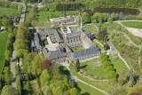 Vue aérienne de l'Abbaye du Val-Dieu