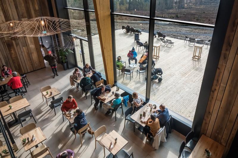 Brouwerij Belgium Peak Beer - Sourbrodt - Restaurant