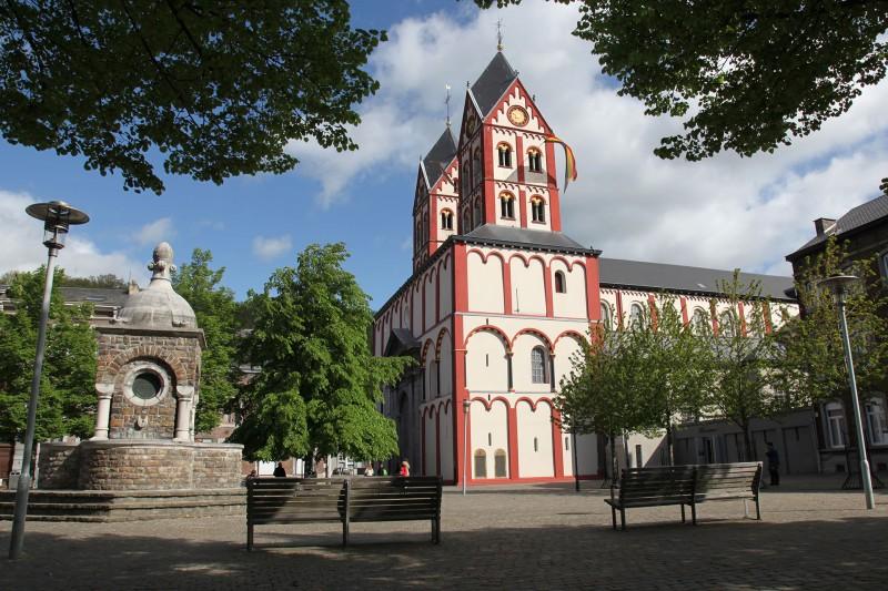 Altstadt von Lüttich - Stiftskirche Saint-Barthélemy