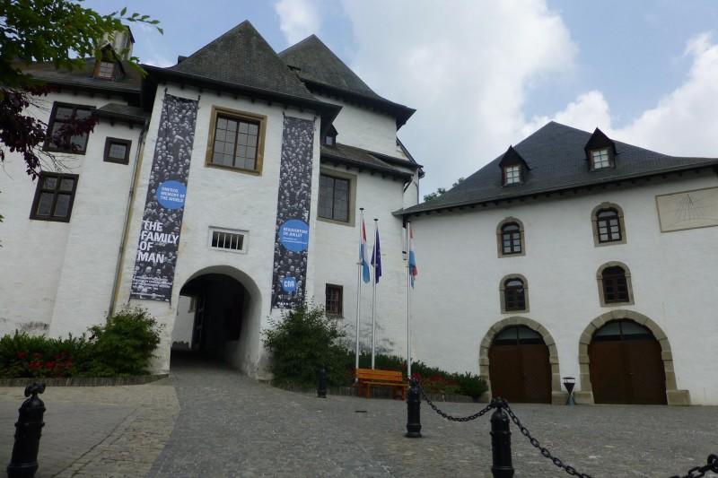 Château de Clervaux - vue extérieure