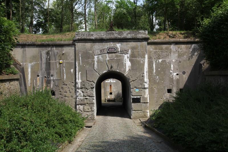 Fort de Lantin - Entrée