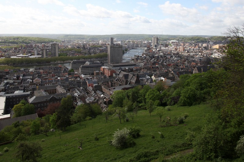 De Hellingen van de Citadel in Luik