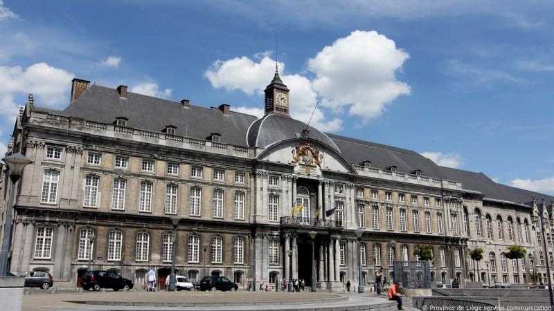 Palais des Princes-Evêques - Liège - vue extérieure