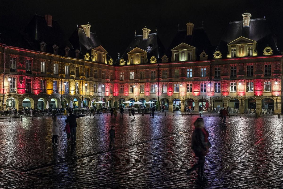 Weiße Nacht - Place Ducale - Charleville-Mézières