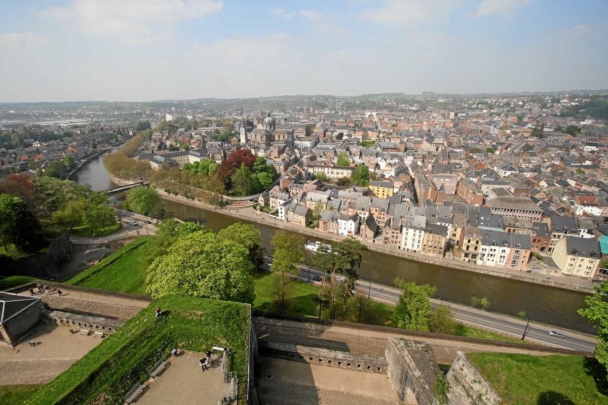 Namur, the capital of Wallonia