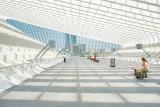 The Liège-Guillemins train station by Calatrava