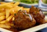 """""""boulet liégeois"""" meatball"""
