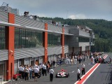 Spa-Francorchamps circuit paddock