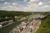 Ville de Dinant - Vue depuis la Citadelle