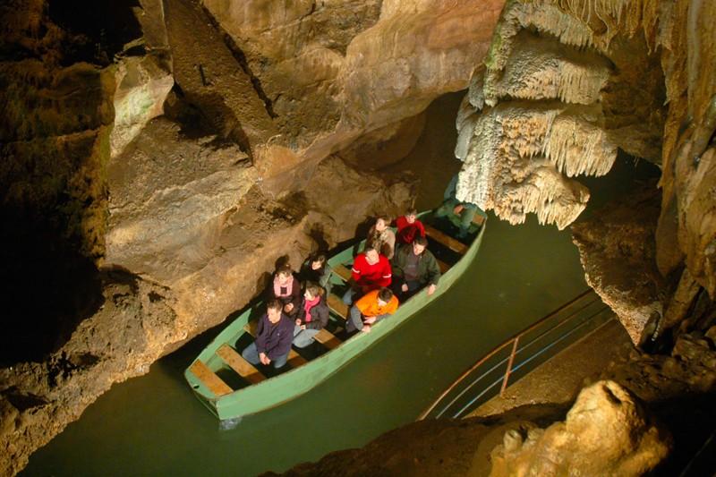 Die Höhlen von Remouchamps